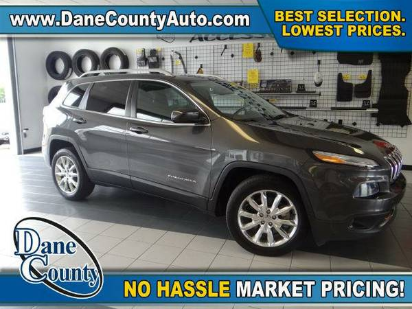 2014 *Jeep Cherokee* Limited - Jeep Granite Crystal Metallic Clearcoat