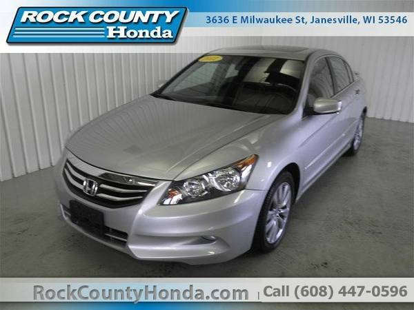 2012 Honda Accord EXLV6 Sedan Accord Honda
