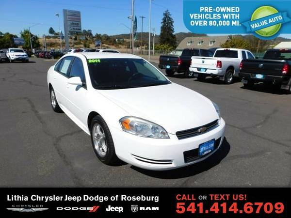 2011 Chevrolet Impala 1FL (You Save $734 Below KBB Retail)
