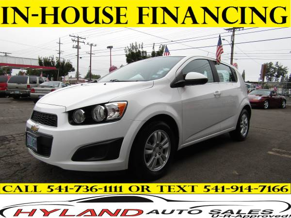 2013 CHEVROLET SONIC LT *BAD CREDIT IS NO PROBLEM @ HYLAND AUTO SALES