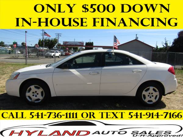 2006 PONTIAC G6 **CREDIT IS EASY @ HYLAND AUTO SALES **