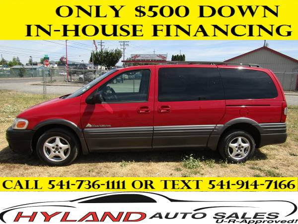 2001 PONTIAC MONTANA * BUY HERE/ PAY HERE @ HYLAND AUTO SALES