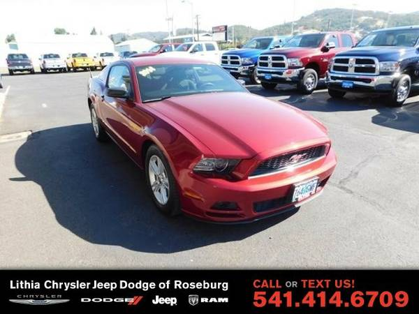 2014 Ford Mustang V6 (You Save $1,399 Below KBB Retail)