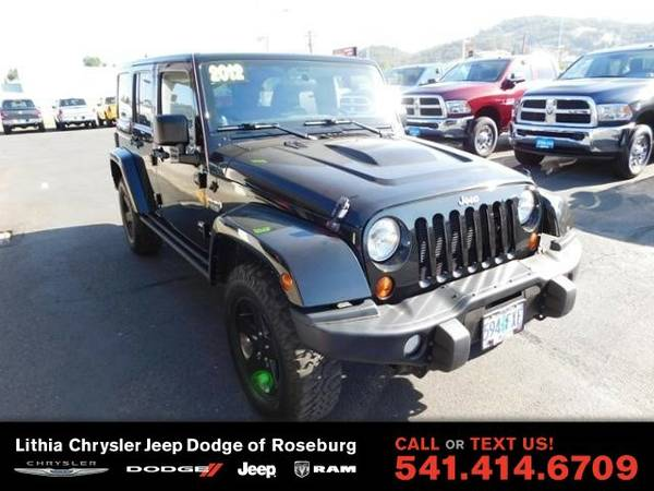 2012 Jeep Wrangler Unlimited RUBICON (You Save $3,709 Below KBB...