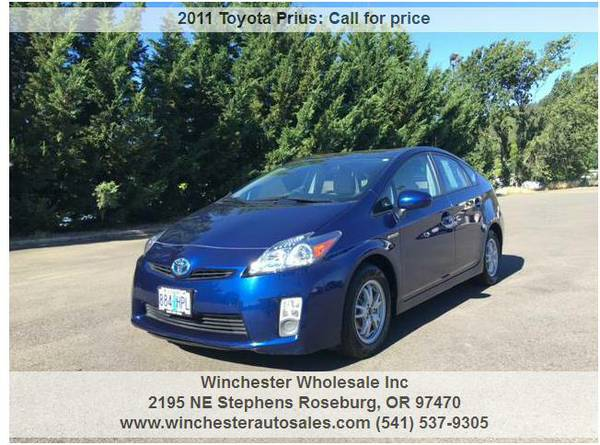2011 Toyota Prius II 4dr Hatchback