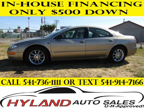2004 CHRYSLER 300M LOW MILES CREDIT IS EASY @ HYLAND AUTO SALES