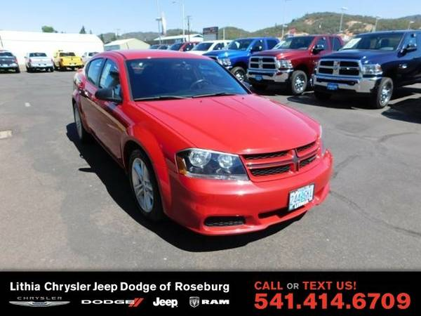 2013 Dodge Avenger SE (You Save $353 Below KBB Retail)
