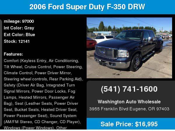 2006 Ford Super Duty F-350 DRW Crew Cab 172