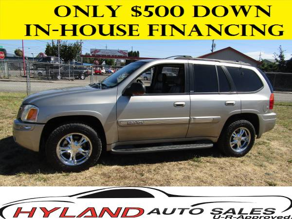 2003 GMC ENVOY SLT 4X4 CREDIT IS EASY @ HYLAND AUTO SALES*