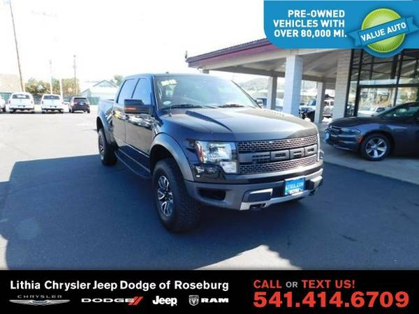 2012 Ford F-150 RAPTOR (You Save $1,848 Below KBB Retail)