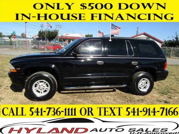 1999 DODGE DURANGO 4X4 *3RD ROW SEATING* BUYING IS EASY @ HYLAND AUTO