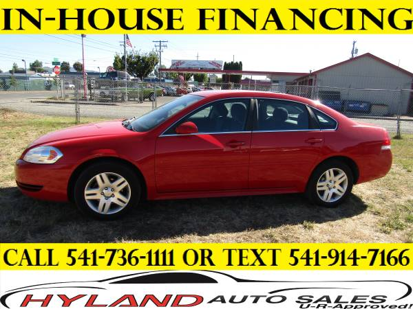 2013 CHEVROLET IMPALA LT **CREDIT IS EASY @ HYLAND AUTO SALES
