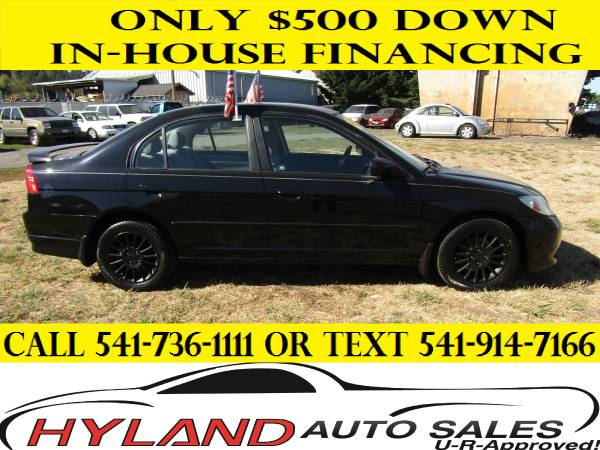 2005 HONDA CIVIC LX **CREDIT IS EASY @ HYLAND AUTO SALES**