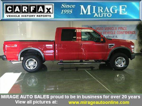 2008 *Ford* *F-250* Super Duty FX4 FX4 4dr Crew Cab
