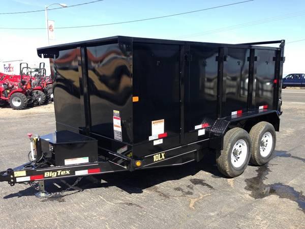 Dump Trailers, Equipment Trailers, Big Tex 10LX-12-4