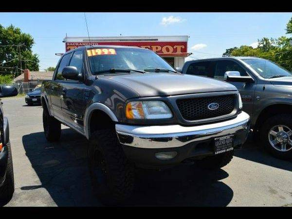 2003 *Ford* *F-150* *F 150* *F150* Lariat 4dr SuperCrew 4WD Styleside