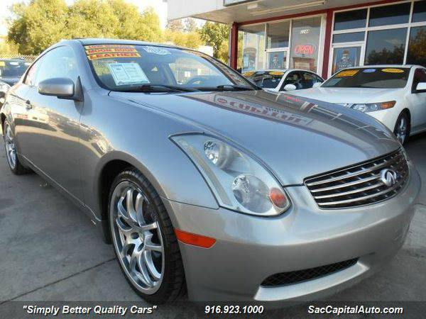2005 *Infiniti* *G35* Premium w. Navigation . MoonRoof . Low Miles . L