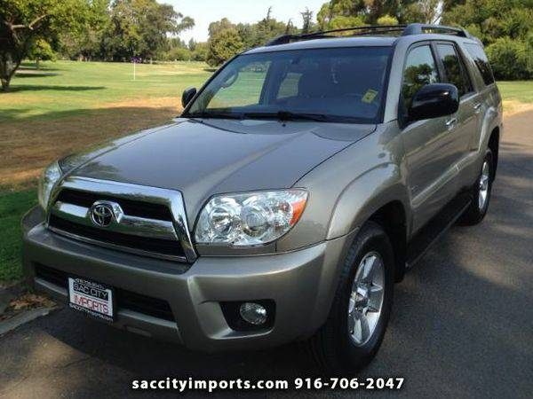 2007 *Toyota* *4Runner* Sport Edition 2WD - ZERO DOWN Payment!