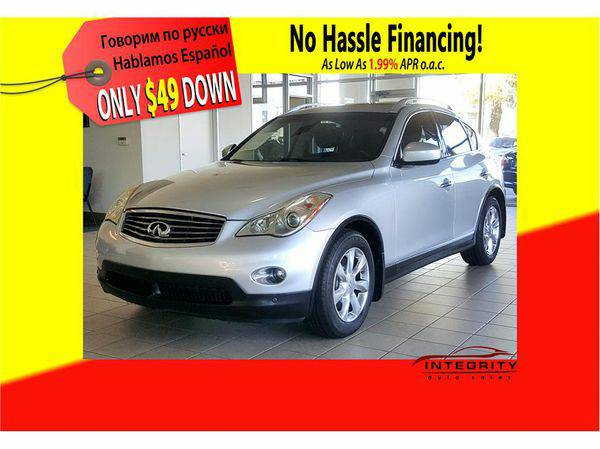 2008 *Infiniti* *EX* ; Your job is your credit! No hassle!!!