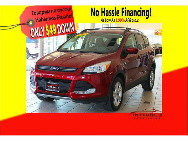 2013 *Ford* *Escape* ; Your job is your credit! No hassle!!!