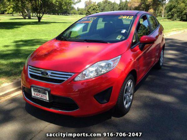 2012 *Ford* *Fiesta* SE Sedan - ZERO DOWN Payment!