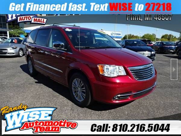 2013 Chrysler Town and Country 4D Passenger Van Touring-L