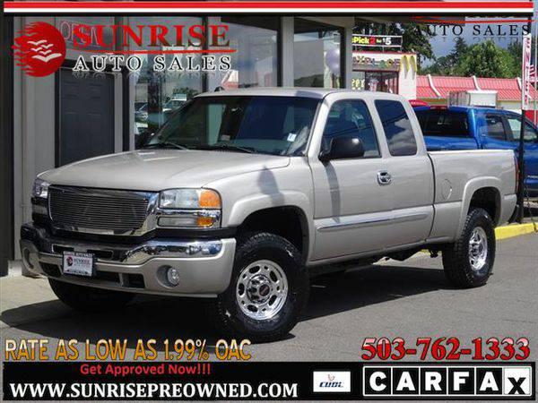 2004 *GMC* *Sierra* *2500* Work Truck 4dr Extended Cab 4wd Solid Truck