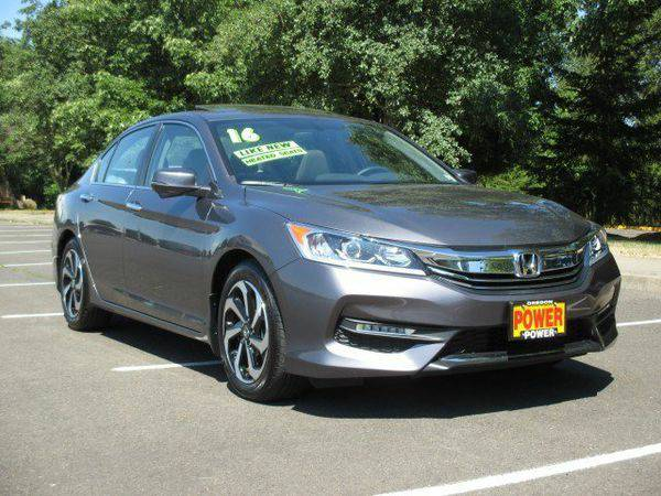2016 *Honda* *Accord* *Sedan* EX-L - GET APPROVED TODAY!!!!