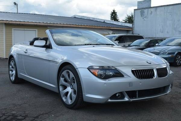 2004 *BMW* *6* *Series* *645Ci* 2D Convertible