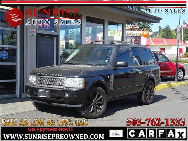 2008 *Land* *Rover* *Range* *Rover* RANGE ROVER Supercharged, LEATHER