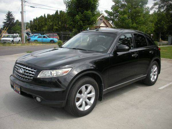 2003 *Infiniti* *FX35* Base AWD 4dr SUV >>>Easy Financing