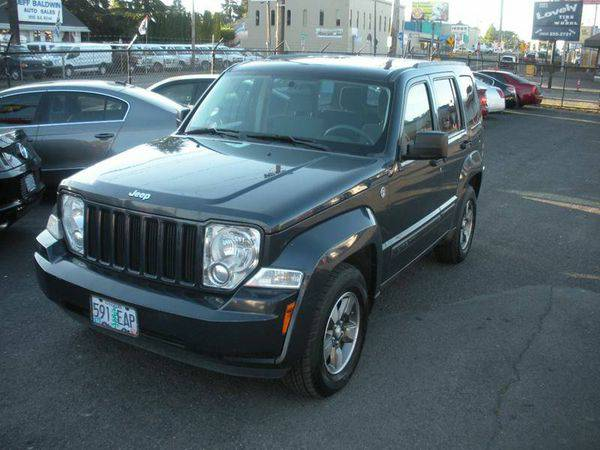 2008 *Jeep* *Liberty* Sport 4x4 4dr SUV >>>Easy Financing