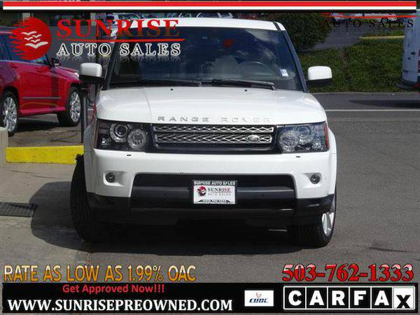 2013 *Land* *Rover* *Range* *Rover* *Sport* LAND ROVER HSE LUX FULLY L