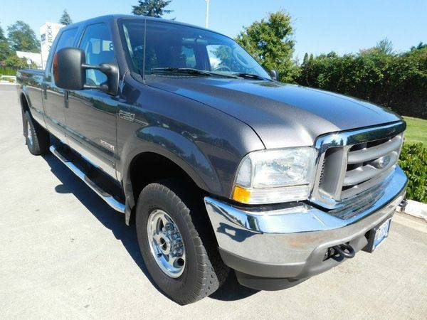 2003 *Ford* *F350* *Crew* *Cab* *Long* *Bed* FX4 LARIAT *ONLY 59K M