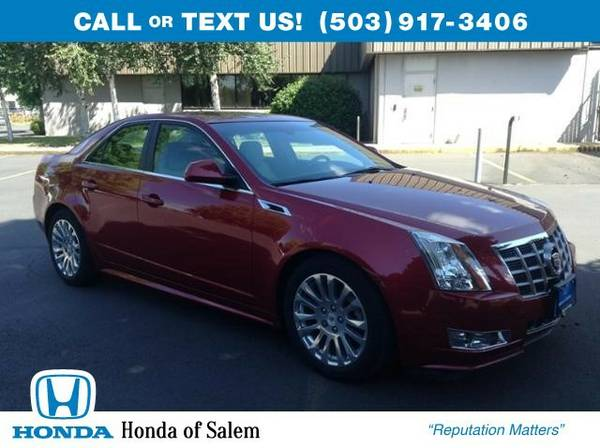 2012 Cadillac CTS PREMIUM (You Save $3,229 Below KBB Retail)