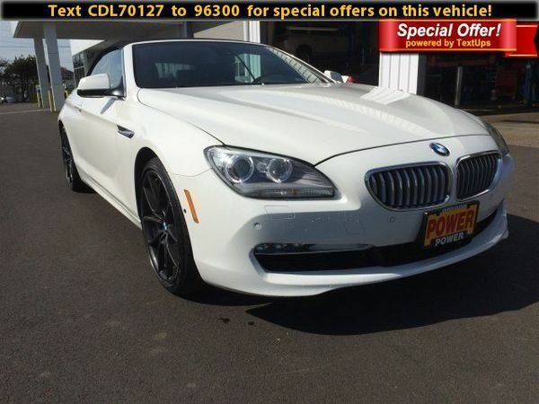2012 *BMW* *6* *Series* 650i - Call/Text