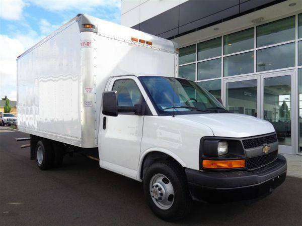 2014 *Chevrolet* *Express* *Commercial* *Cutaway* VAN 159 - GET APPROV