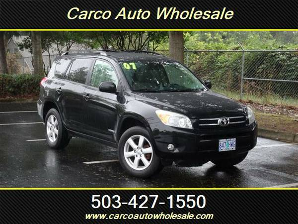 2007 Toyota RAV4 Limited 4dr SUV,FAMILY SIZE,4WD