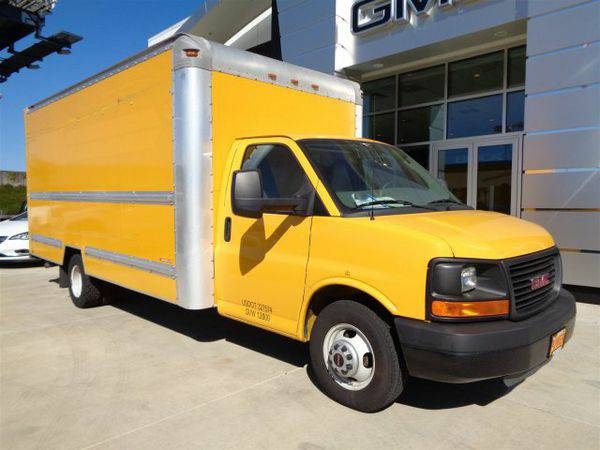 2011 *GMC* *Savana* *Commercial* *Cutaway* Work Van - GET APPROVED TOD