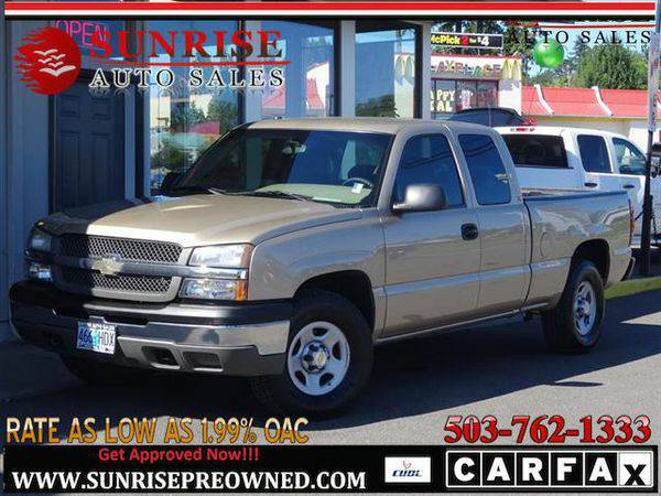 2004 *Chevrolet* *Silverado* *1500* LS 4dr Extended Cab, 4WD, GREAT WO