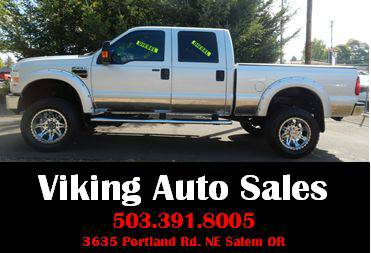 2008 Ford F-350 Super Duty Crew Cab SRW 4X4 V-8 TDSL**1-OWNER**
