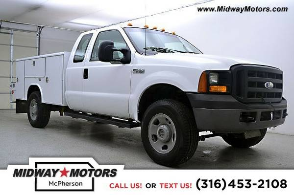 2007 Ford Super Duty F-350 SRW XL Work Truck Truck Super Duty F-350...