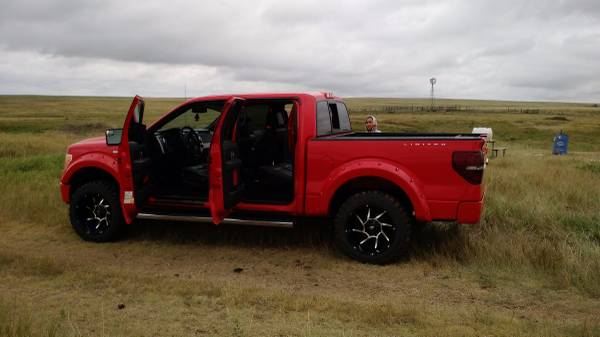 2012 Ford F-150 4x4 Lariat Supercrew 58K