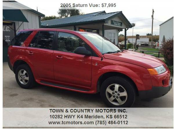 2005 SATURN VUE ◆◇◆ 41000! AWESOME! AWD SUPERB SUV!!