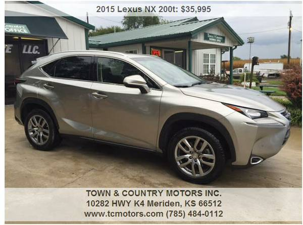 2015 LEXUS NX 200T ◆◇◆ 28000! AWESOME! SPORT 4WD...