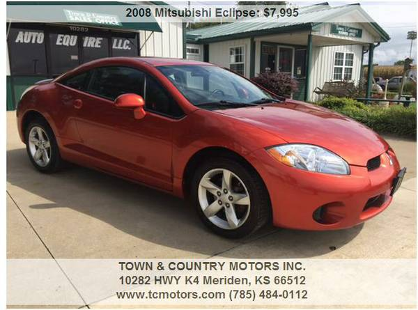 2008 MITSUBISHI ECLIPSE ◆◇◆ 29000 MILES! GREAT...