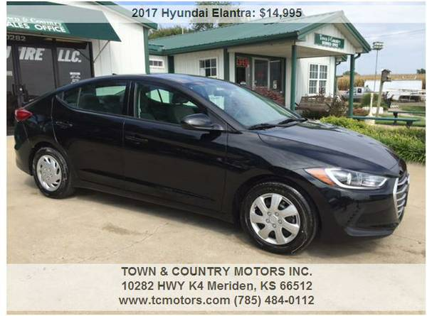 2017 HYUNDAI ELANTRA ◆◇◆ 1700 MILES! AWESOME! SUPER