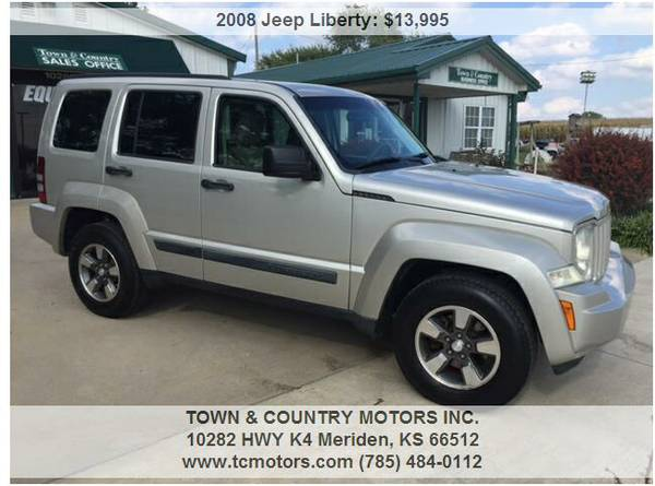 2008 JEEP LIBERTY ◆◇◆ 52000! GREAT! VERY CLEAN...