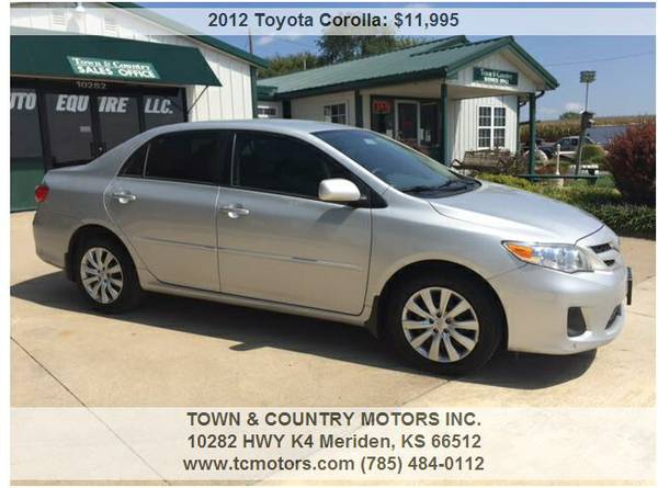 2012 TOYOTA COROLLA ◆◇◆ 39000! SUPERB! VERY CLEAN...