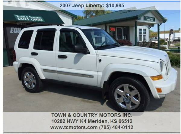 2007 JEEP LIBERTY ◆◇◆ 37000 MILES! 0 ACCIDENT, 4WD...